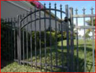 Iron gate from Tornado Fence Company, Mobile, AL